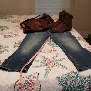 Pre owned miss me jeans